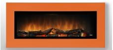 WALL FLAME 16 oranžová