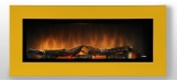 Nástěnný krb WALL FLAME 16  barva na přání: žlutá